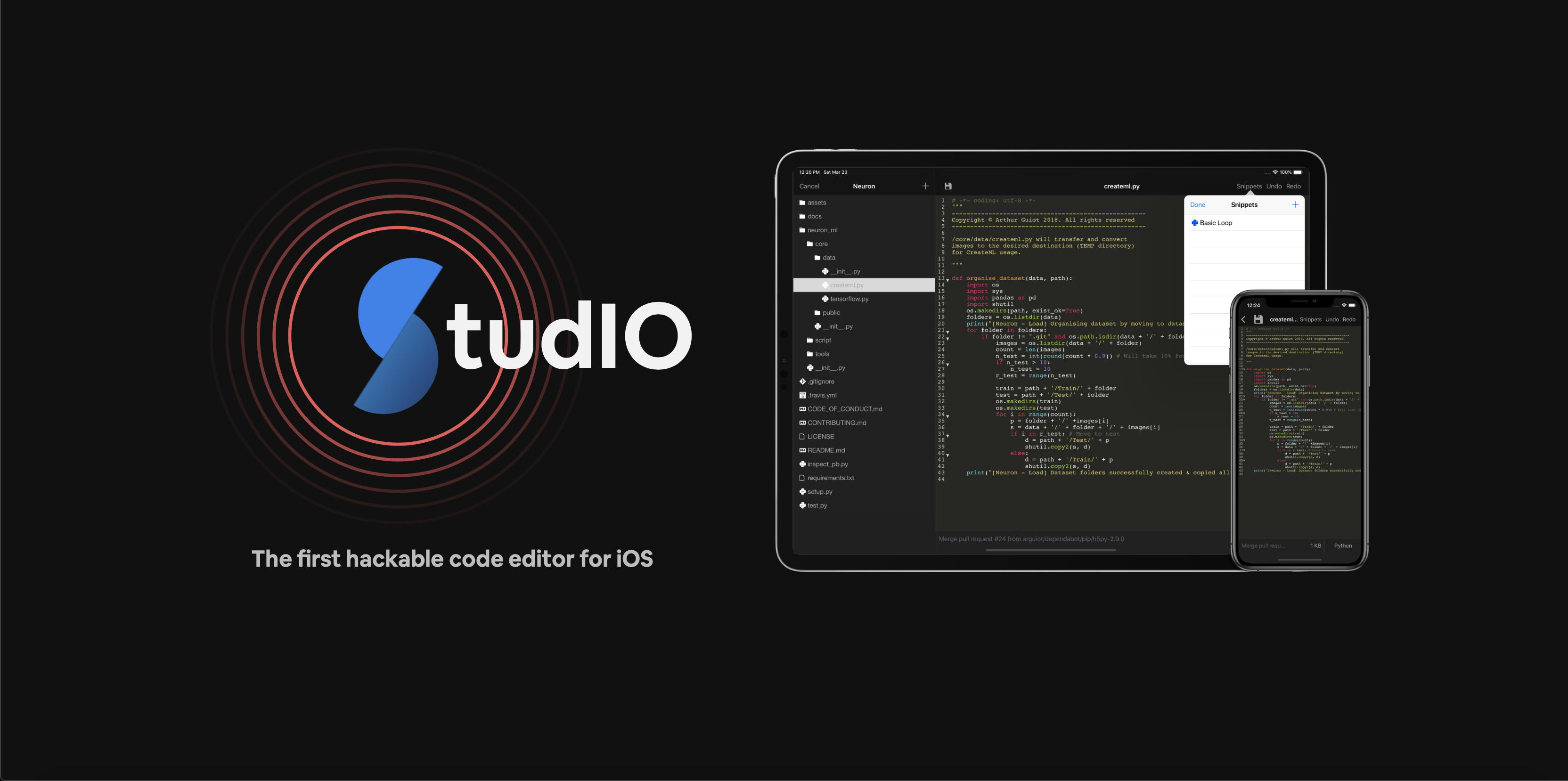 Cover Image for StudIO Code